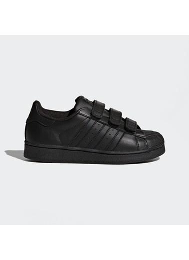 adidas Superstar Foundation Cf C Erkek Çocuk Kalın nlı Sneaker Siyah